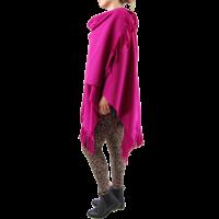thumb-Poncho fleece-2
