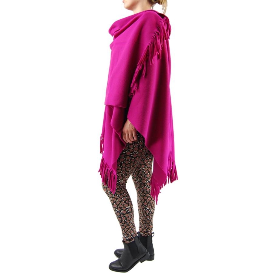 Poncho fleece-2