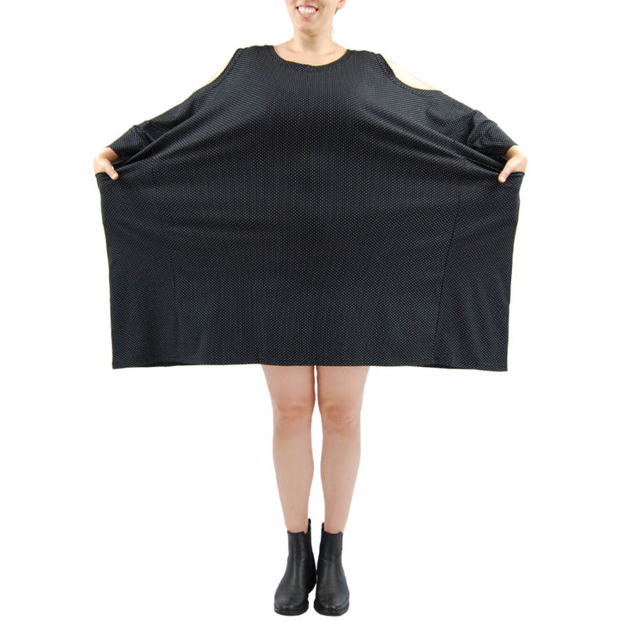 Wijde jurk zakken-4