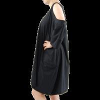 thumb-Wijde jurk zakken-3