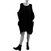 thumb-Wijde jurk zakken-1