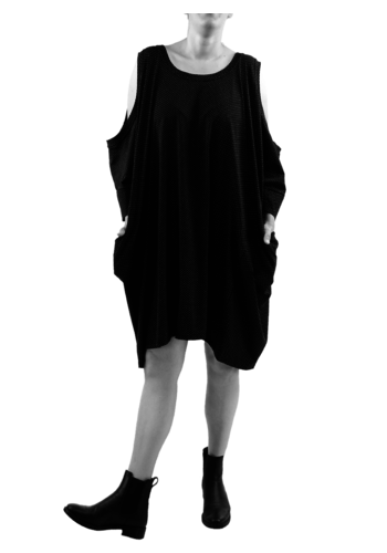 4255 Wijde jurk zakken