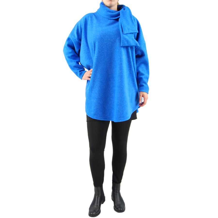Trui strik fleece melee-2