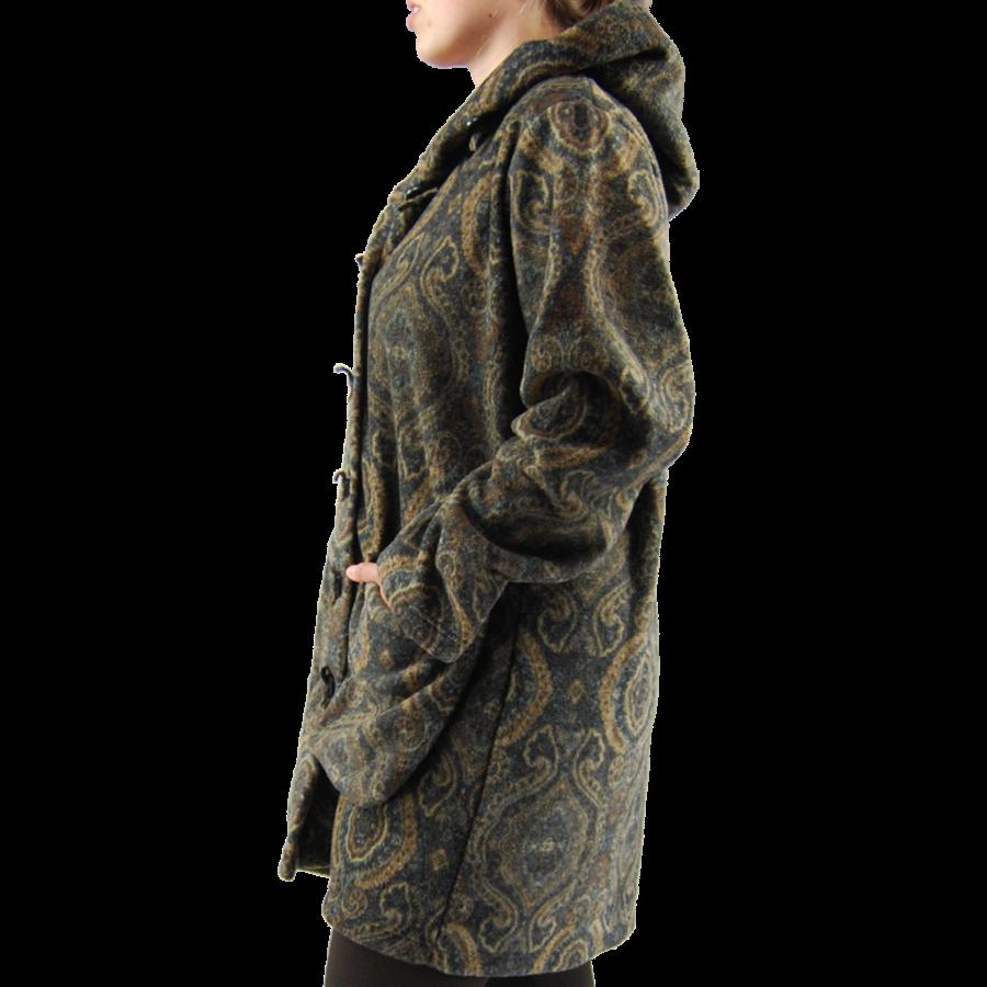 3/4 Vest cap. zakken  fleece mêlee-4