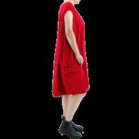 thumb-Wijde jurk elastiek-3