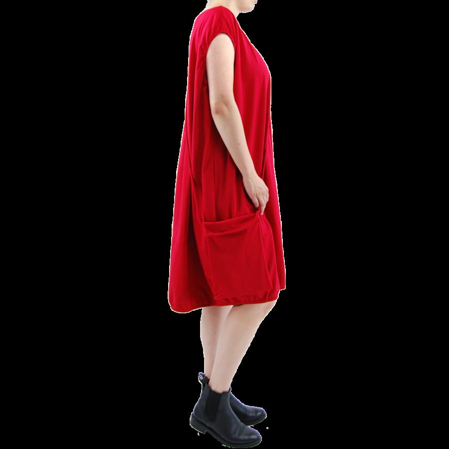Wijde jurk elastiek-3
