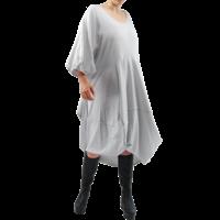 thumb-Wijde jurk stiksel-3