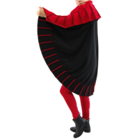 thumb-Poncho naden fleece-2