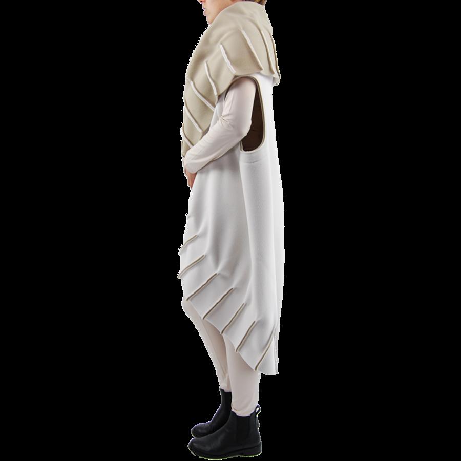 Poncho naden fleece-3