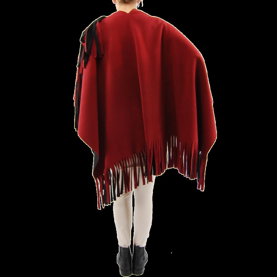 Poncho Rev. incl. sjaal-6