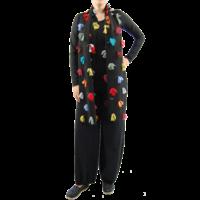 thumb-Sjaal kleurtjes multi color-2