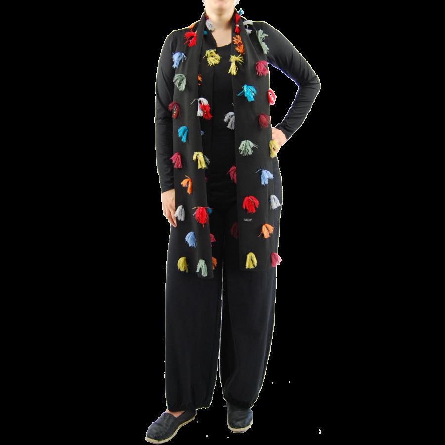 Sjaal kleurtjes multi color-2