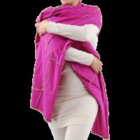 thumb-Sjaal gekleurde stiksels-3