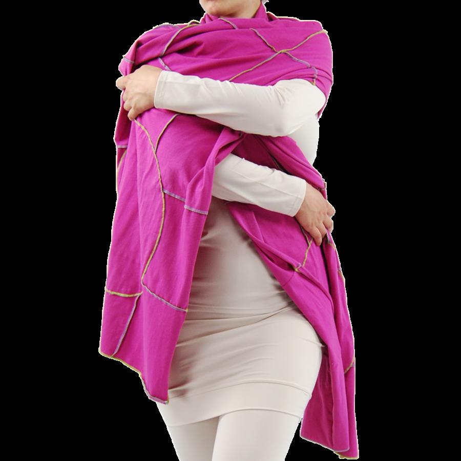 Sjaal gekleurde stiksels-3