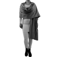 thumb-Sjaal gekleurde stiksels-1
