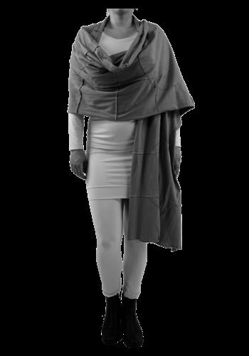 8023 Sjaal gekleurde stiksels