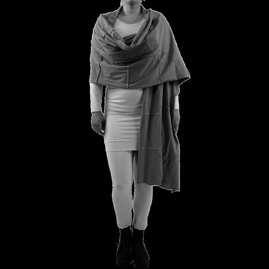 Sjaal gekleurde stiksels-1