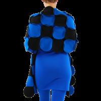 thumb-Sjaal cirkels fleece-6