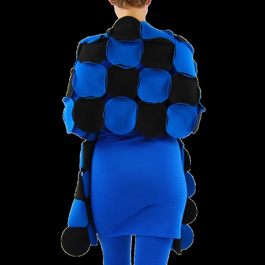 Sjaal cirkels fleece-6