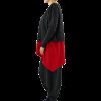 thumb-Wijd shirt Asymmetrisch-4