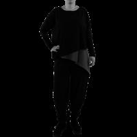 thumb-Wijd shirt Asymmetrisch-1