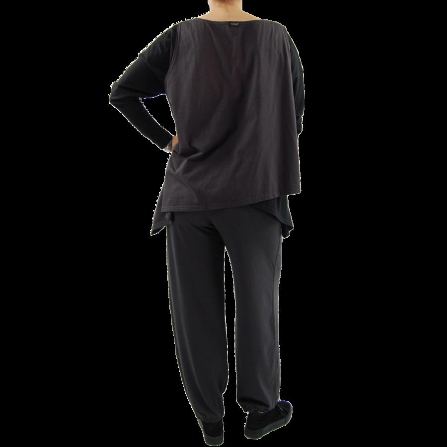 Wijd shirt Asymmetrisch-9