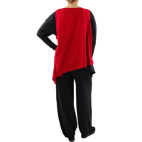 thumb-Wijd shirt Asymmetrisch-7
