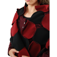 thumb-Sjaal cirkels fleece-5