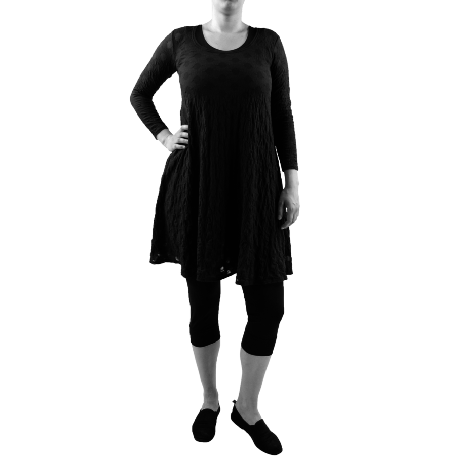 A-lijn jurk balletje-1