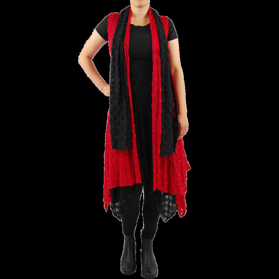 Sjaal balletjes-3