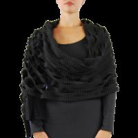 thumb-Sjaal insnijdingen fleece-3