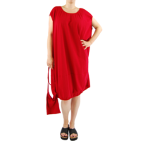thumb-Wijde jurk elastiek-2