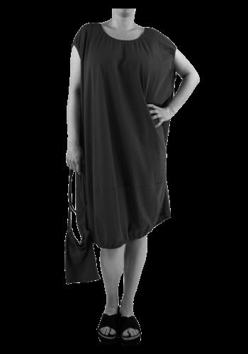 4252 Wijde jurk elastiek