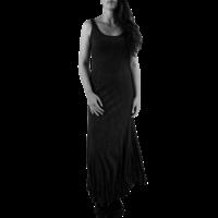 thumb-Lange jurk zonder mouwen-1