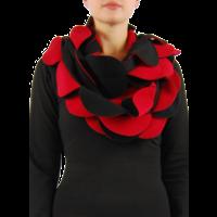 thumb-Sjaal cirkels fleece-4