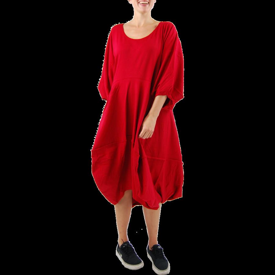 Wijde jurk stiksel-2