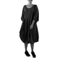 thumb-Wijde jurk stiksel-1