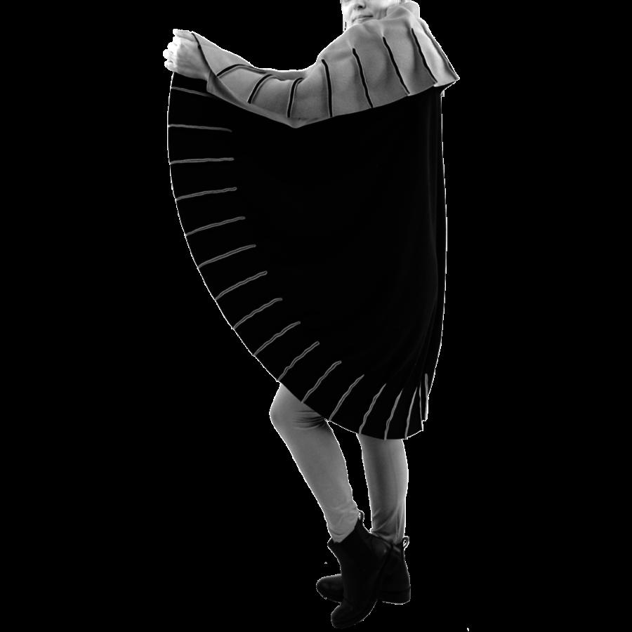 Poncho naden fleece-1