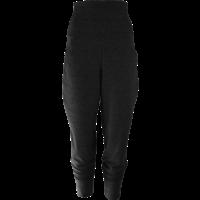 thumb-Broek met zakken, een brede tailleband en omslagen onderaan de broekspijpen.-1
