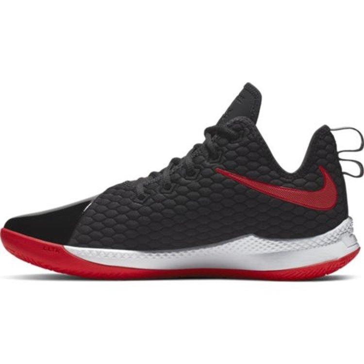 Nike Basketball Nike LeBron Witness III PRM Zwart Wit Rood