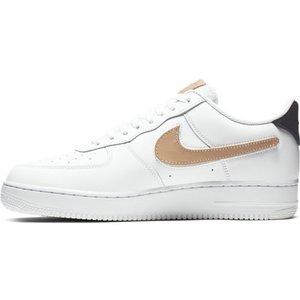 Nike Nike Air Force 1 '07 LV8 3 Wit Blauw Metaal