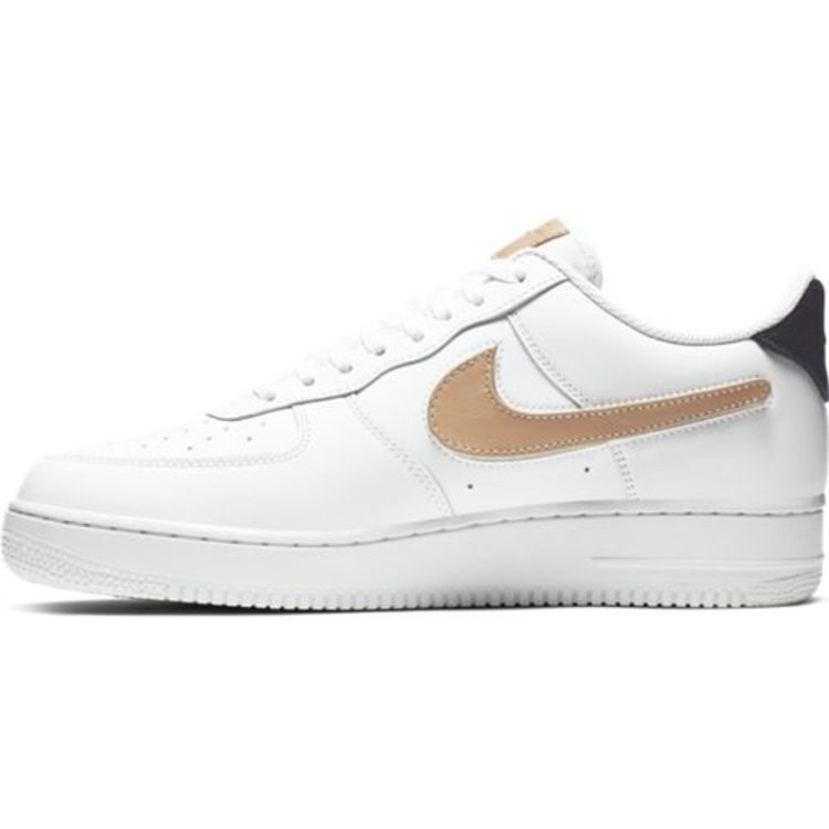 Nike Sportswear Sneaker AIR FORCE 1 '07 LV8 WE Leder Grau