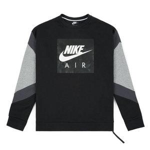 Nike Nike Air Crewneck Zwart Grijs
