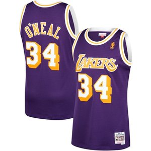 Mitchell & Ness Mitchell & Ness Lakers Shaquille O'Neal #34 Swingman Jersey Paars