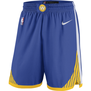 Nike Basketball Nike NBA Golden State Warriors Swingman Road Shorts
