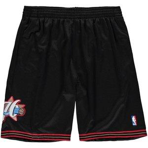 Mitchell & Ness Mitchell & Ness Philadelphia 76ers Swingman Shorts Zwart