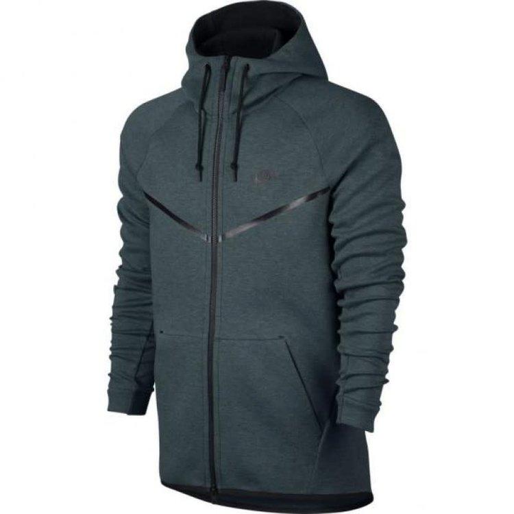 Nike Nike Tech Fleece Windrunner Hoodie Blau