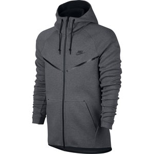 Nike Nike Tech Fleece Windrunner Hoodie Grey