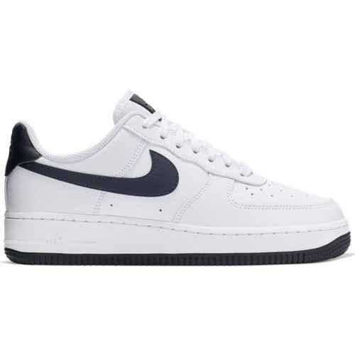Nike Nike Air Force 1 Wit Navy Blauw
