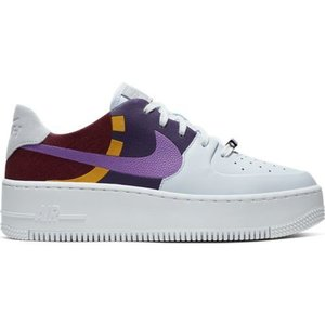 Nike Nike Air Force 1 Sage Low LX Wit Paars